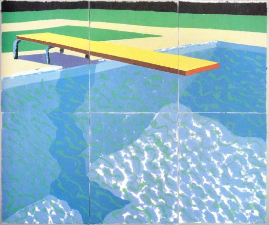 Hockney Paper Pools 2