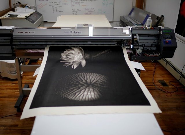 Impresión digital en papel Mitsumata